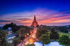 Stupa di Phra Pathom Chedi Fotografia Stock