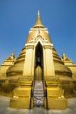 Stupa dorato Fotografie Stock