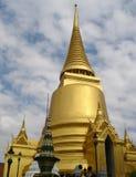 Stupa dorato - grande palazzo - Bangkok Fotografie Stock Libere da Diritti