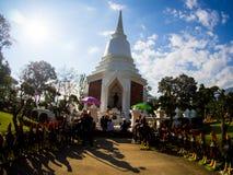 Stupa du Roi Naresuan le grand Roi Memorial, Chiangdao, Thaïlande photographie stock libre de droits
