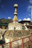 Stupa em Rangjung Butão Imagem de Stock Royalty Free
