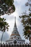 Stupa em Wat Yanasangwararam Worawihrn Imagens de Stock Royalty Free