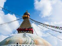 Stupa en Boudanath Imagen de archivo libre de regalías