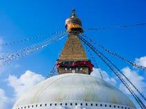 Stupa en Boudanath Fotos de archivo libres de regalías