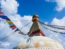 Stupa en Boudanath Fotografía de archivo