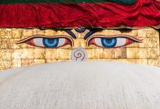 Stupa en Boudanath Foto de archivo