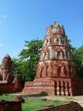 Stupa en el mahathat del wat Imagen de archivo libre de regalías