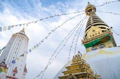 Stupa en el Nepal Fotos de archivo