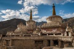 Stupa en Lamayuru Foto de archivo libre de regalías