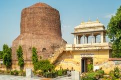 Stupa en Sarnath Imagenes de archivo