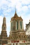 Stupa en Wat Arun en Bangkok Tailandia Imágenes de archivo libres de regalías