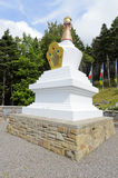 The Stupa of Enlightenment Stock Photos