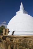 stupa för sri för anuradhapuralankamirisavetiya Arkivbild