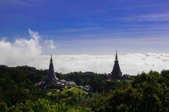 Stupa gêmeo Foto de Stock
