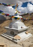 Stupa in Hanuma La Pass Zanskar trek Royalty Free Stock Images
