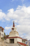 Stupa at Hemis monastery Royalty Free Stock Photo