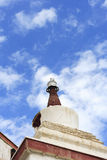 Stupa at Hemis monastery Stock Photos