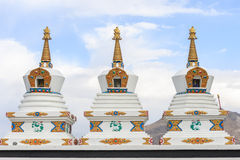 Stupa at Hemis monastery Stock Images