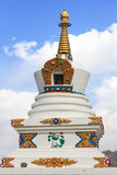 Stupa at Hemis monastery Royalty Free Stock Photography