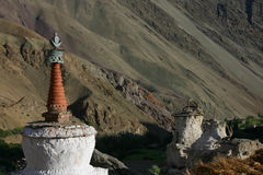 Stupa in Hemis Shukpachan Royalty Free Stock Images