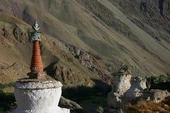 Stupa in Hemis Shukpachan Immagini Stock Libere da Diritti