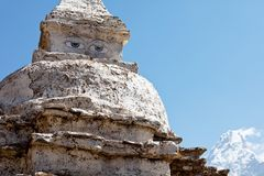 Stupa in Himalaya Royalty Free Stock Photo