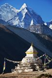 Stupa in Himalaya Royalty Free Stock Photos