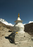 Stupa in the Himalayas Royalty Free Stock Image