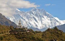 Stupa in the Himalayas Stock Photos