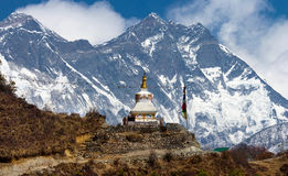 Stupa   in Himalayas, Nepal Stock Photos