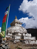Stupa in the Himalayas Stock Photos