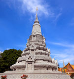 Stupa of His Majesty Ang Duong in Phnom Penh, Cambodia Royalty Free Stock Image
