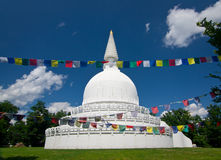 Stupa in Hungary Stock Images