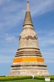Stupa i Ayutthaya Royaltyfria Bilder