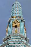 Stupa i Bangkok, Thailand Arkivbild
