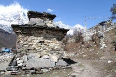 Stupa i footpath Zdjęcie Royalty Free