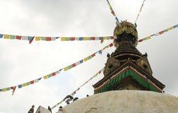Stupa inKathmandu Royalty Free Stock Photo