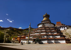 Stupa innumerevole di buddhas Fotografie Stock