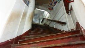 Stupa inre trappuppgång Fotografering för Bildbyråer