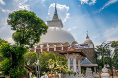 The Stupa of Kalutara Stock Images