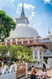 The Stupa of Kalutara Stock Photo