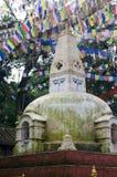 Stupa in Kathmandu Stock Photos