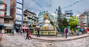 Stupa a Kathmandu Immagini Stock