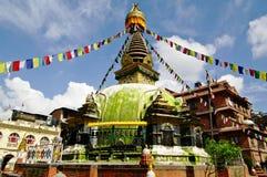 stupa kathmandu Стоковое Изображение RF