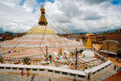 stupa kathmandu kathesimbhu Стоковое Изображение