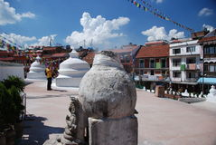 Stupa in Kathmandu, Nepal Royalty Free Stock Photography