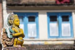 Stupa in Kathmandu valley, Nepal Royalty Free Stock Photo