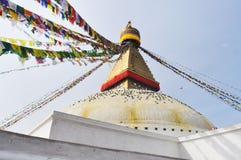 Stupa Katmandu Nepal Royalty-vrije Stock Fotografie