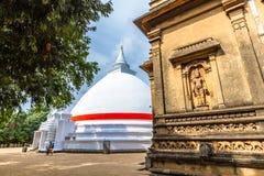 The Stupa at Kelaniya stock photo