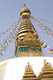 Stupa - Khumbu , Nepal Royalty Free Stock Photos